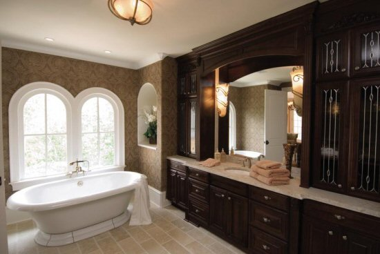 BATH CABINETS, BATHROOM CABINETRY, VANITY CABINETS :: ACCENT